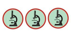3 microscopes