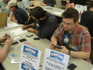 Darrell Louder at an Unpub Mini at 6 Feet Under