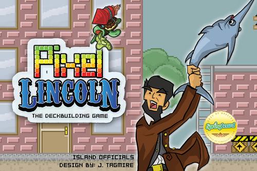 Pixel Lincoln by Jason Tagmire
