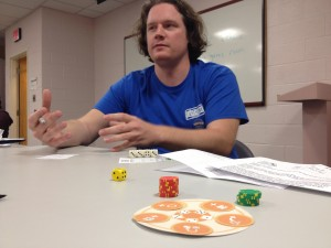 TC Petty III, one of the cogs that keeps Unpub going