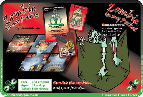 A Conversation With...Jeremiah Lee, designer of Zombie In My Pocket & Zombie House Blitz (3/6)
