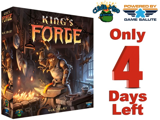 Under The Microscope - A Review of King's Forge by Nick Sibicky (3/3)
