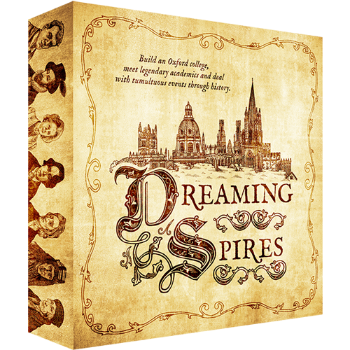 A Conversation With...Jeremy Hogan, the designer of Dreaming Spires (1/4)