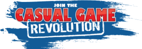 Casual Game Revolution blue